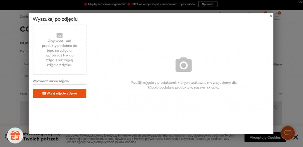 Wyszukiwanie obrazem w e-commerce